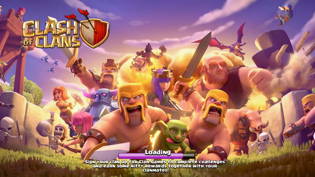 clash of clans game-play