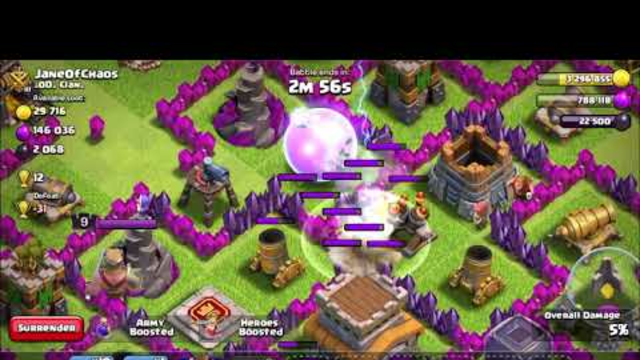 Clash of clans tips and base update