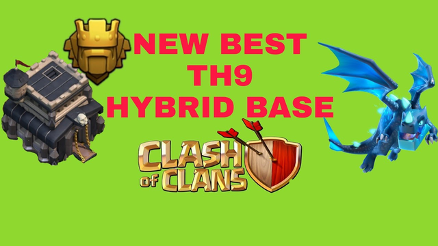 New BEST TH9 HYBRID/TROPHY Base 2020!! | Town Hall 9 (TH9) Hybrid Base Design - Clash of Clans