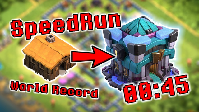 Clash of clans speed run | th1 to th13 |