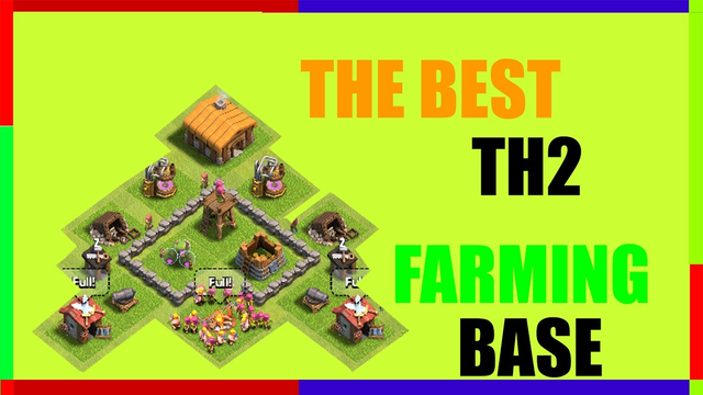 Clash Of Clans TH2 Farming Base - Best Town Hall 2 Faming Base