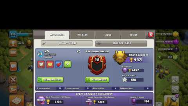 Clash Of Clans (Th13 Almost Max) Is Available For Sell..