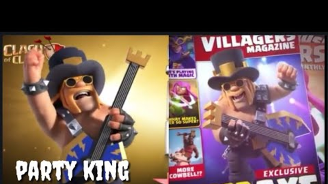 Trailer party king (barbarian king) CLASH OF CLANS
