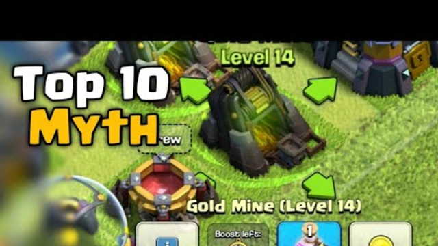 Top 10 Mythbusters in Clash of Clans - Episode #6