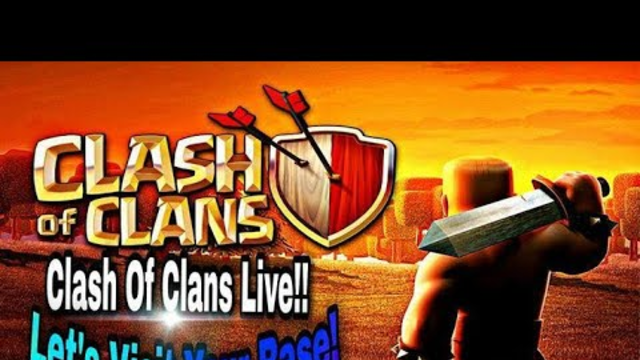coc live base visit and attack