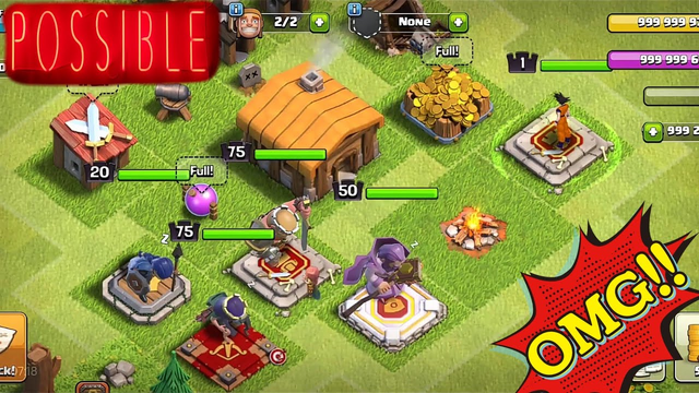 I Maxed All Heroes In Town hall 2 within 4min | Statisfing ASMR of Clash of Clans is here