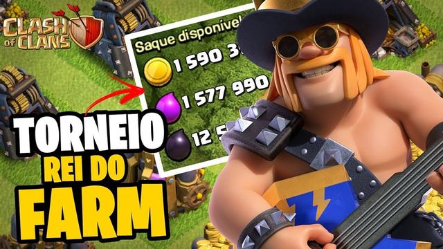 """PRIMEIRO TORNEIO """"REI DO FARM"""" CV12 & CV13! QUEM VAI LEVAR ESSA? - CLASH OF CLANS"""