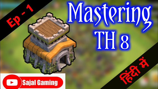 Mastering TH 8 | Ep - 1 | Journey from a noob TH 8 to a GOD TH 8 | Full TH 8 Guide | #coc