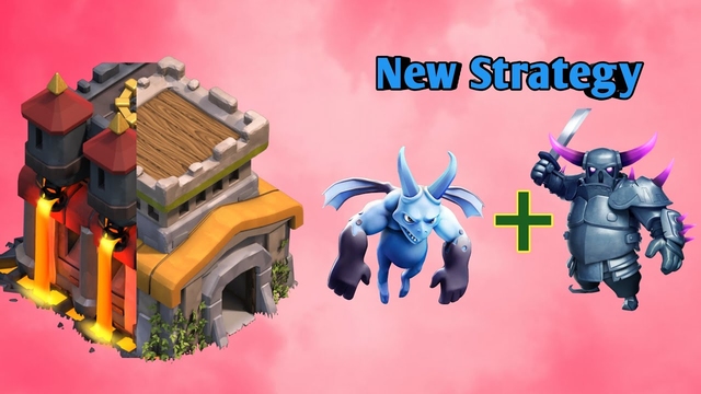 New Attack Strategy in TH8 | Minion+Pekka Strategy | Clash of Clans | COC | Rad Clash