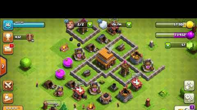 Clash of clans road to th8