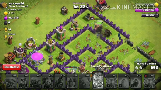 Clash of Clans Th8 Best attack Strategy Ep2.