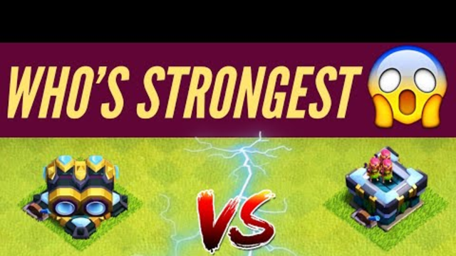 Gear up cannon vs gear up archer tower | who is strongest | comparison | clash of clans