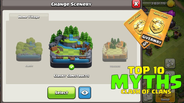 Top 10 Mythbusters in CLASH OF CLANS   COC Myths #30