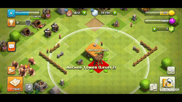 Clash of clans Townhall 2  Base with copy link