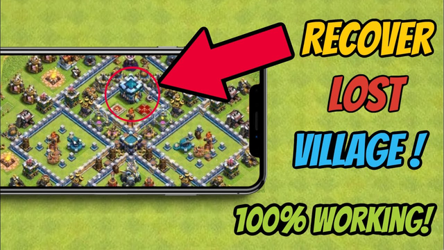 How to recover your clash of clans account / village in 2020 | How to recover CoC account *WORKING*