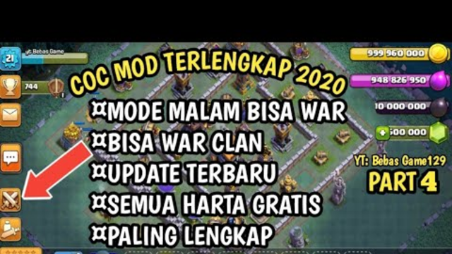 Clash Of Clans Mod Apk Terbaru 2020 || COC MOD PALING LENGKAP TERBARU