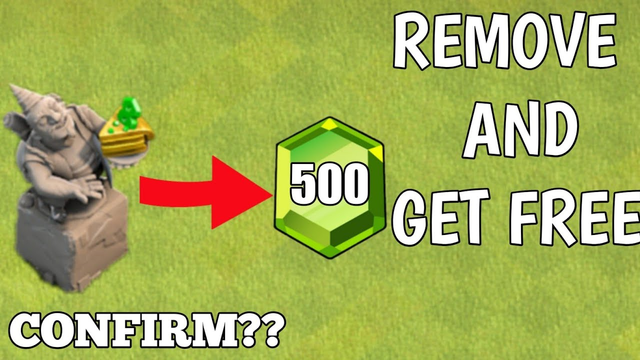 What Happens When you remove 8th Anniversary Statue || Clash of Clans