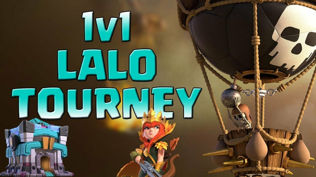 *TH13 TOURNEY* 1v1 Lalo Only Weekly CoC Tournaments | Clash of Clans