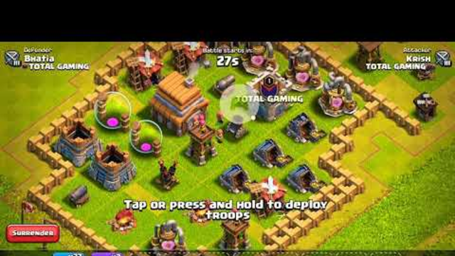 How to find a easy 3 star  base in Clash of clans for th 5