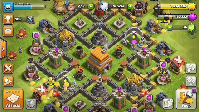 Clash Of Clans ( Coc ) part - 8 gameplay #Skull_Smahing_Gaming.