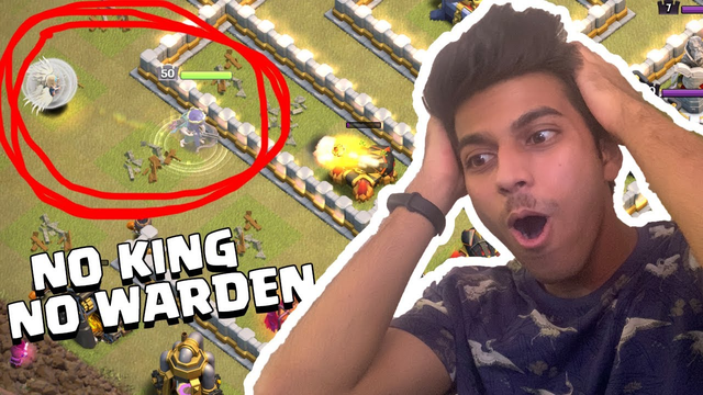 OMG! I DID IT......Without King, Without Warden 3 Star War Attack | Clash of Clans - COC