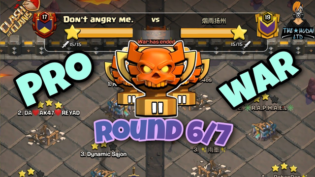 It's CWL Attack Time! August 2020 Round 6/7 Pro War   clash of clans