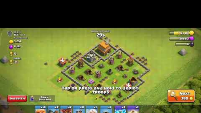Clash of clans ##Attacking strategy..