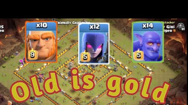 Old is gold - Clash of clans || very old and famous strategy-COC