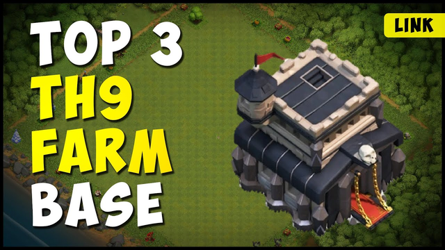 Top 3 Best TH9 Farming Base ** Links ** 2020 | Anti Everything | Clash of Clans