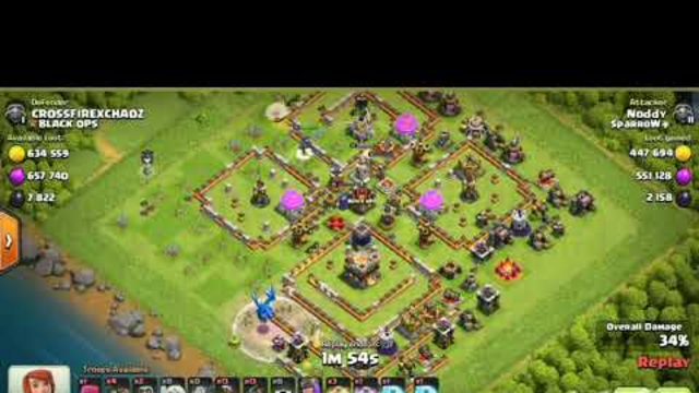 Clash of Clans th10 best hybrid strategy