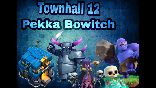 TH 12 Queen Walk Pekka BoWitch | Clash of Clans | Townhall 12 Farming strategy