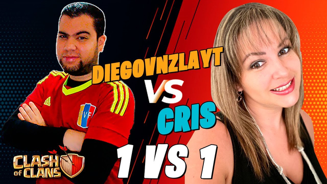 DIRECTO 1 VS 1 | DIEGOVNZLAYT VS CRIS | Clash Of Clans | DiegoVnzlaYT