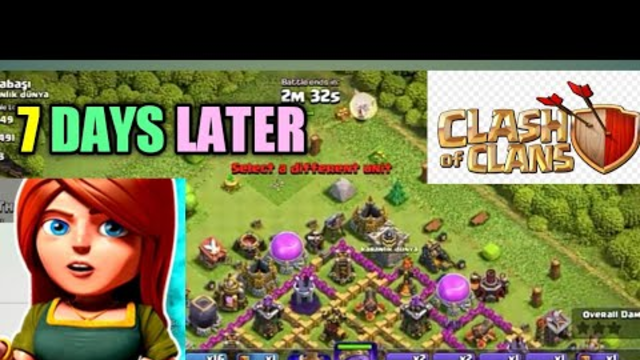 7 days later clash of clans | coc | legend gamerz