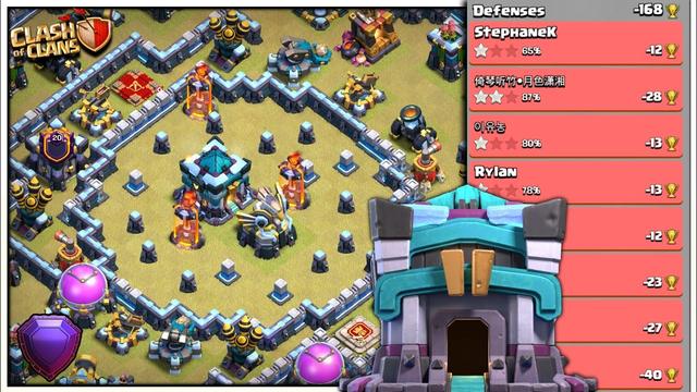 *DEF - 168* TH13 Legend league Base - Th13 war base link   Clash of Clans