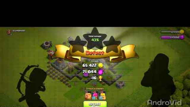 Clash Of Clans_Gameplay on Vivo