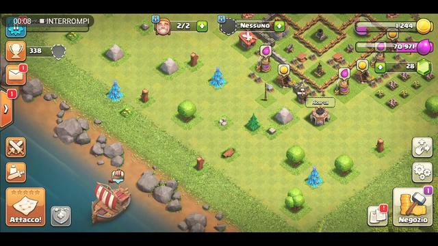 Clash of clans gioco contro di kecco