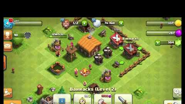 Clash of clans ep 1:starting out