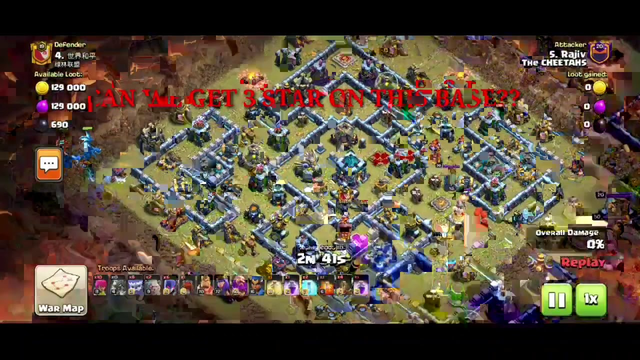 3 STAR TOWNHALL 13 EASILY//CLASH OF CLANS