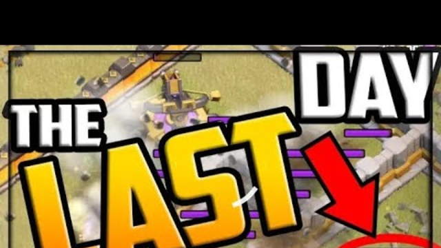 THE INCREDIBLE LAST DAY - Clash of Clans Clan War League Day 7