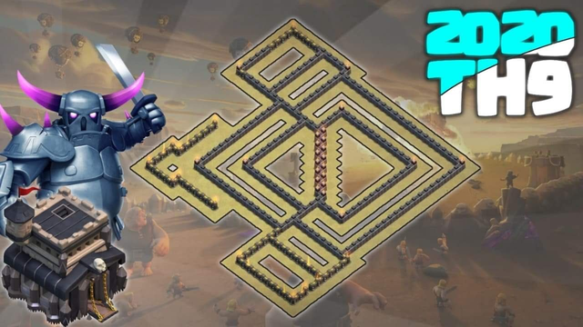 NEW 2020 TOWN HALL 9 WAR BASE | Clash of Clans