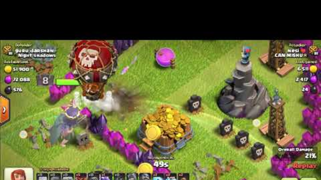 The  first video of my clash of clans