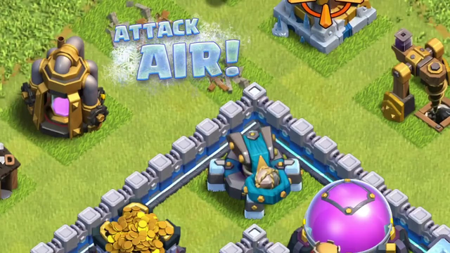 The Scattershot! New Town Hall 13 Defense Clash of Clans Town Hall 13