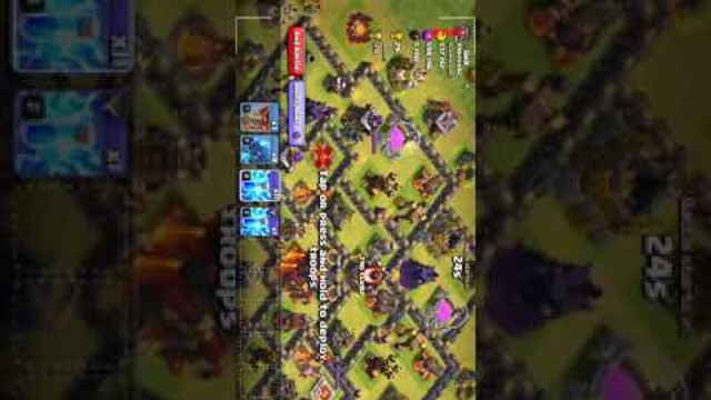 Clash of Clans beating the unpredictable base  | 25 lakh attack gone wrong |#electroraid_gonewrong_