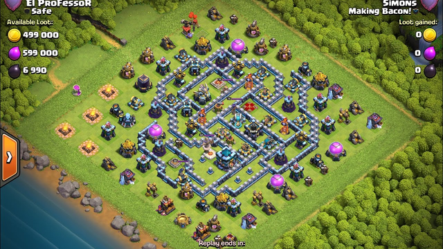 Clash of Clans - TH13, Legends, August, Anti 3, Zap Lalo