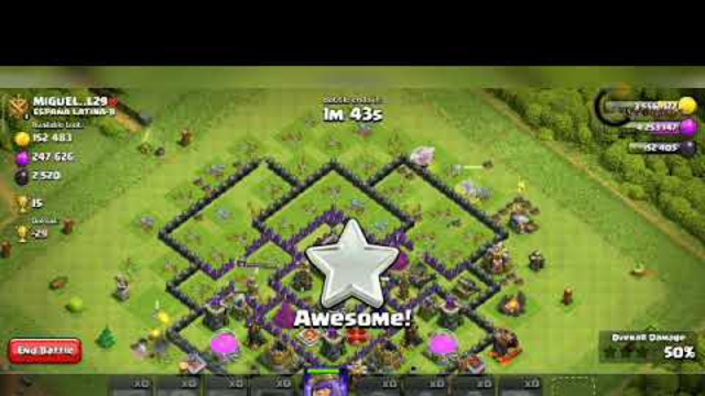Clash of Clans / Attacking Sprite / Town Hall 10 Attacking Army /