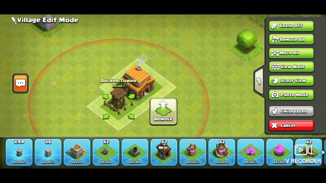 Clash of clans Townhall 3 base