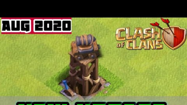 Clash of Clans New August 2020 Update || COC With 3GU ||