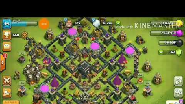 PLAYING COC CLASH OF CLANS AFTER A LONG TIME IF YOU WANT TO JOIN MY  CLAN I HAVE GIVEN THE LINK .