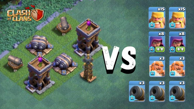 Max Lvl Troops VS Max Lvl Hard Base || Clash of Clans