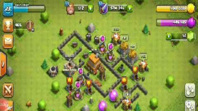 Clash of clans old I'd sale